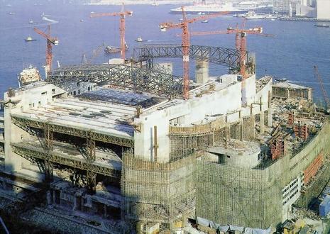 Hong Kong Convention Amp Exhibition Centre Erection