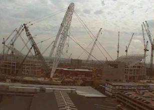 Wembley National Football Stadium Uk Erection